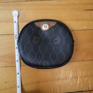 Vintage Dior coin case/ mini wallet